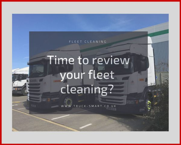 Have your vehicles seen better days after the recent cold snap? Time to get your fleet washing reviewed.