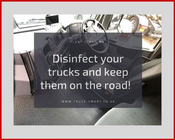 Coronavirus & Your Fleet - Disinfect your trucks to keep them on the road
