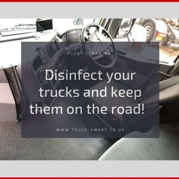 Coronavirus & Your Fleet - Disinfect your trucks to keep them on the road