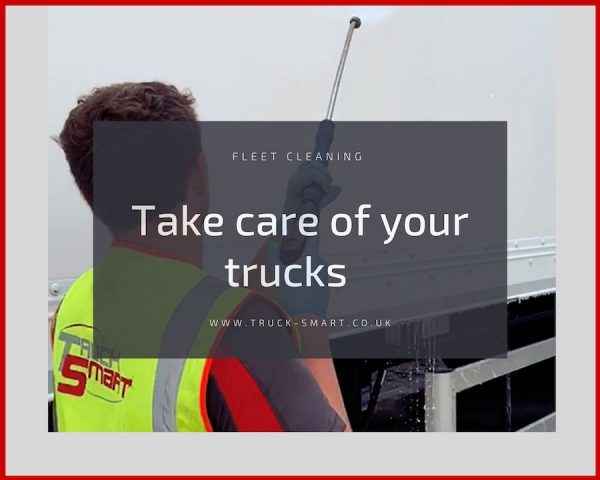 Has COVID-19 corroded your fleet image? Take care of your trucks with a mobile fleet cleaning service