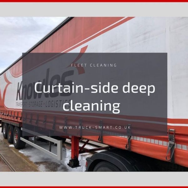 Truck Smart service in the spotlight: Curtain-side deep cleaning