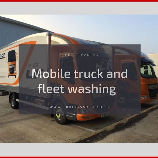 Truck Smart services - Ten years of truck cleaning and counting!