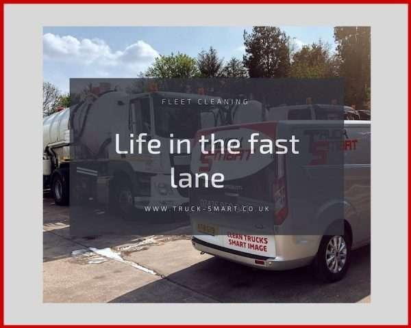 In the fast lane – Truck Smart's October fleet washing update